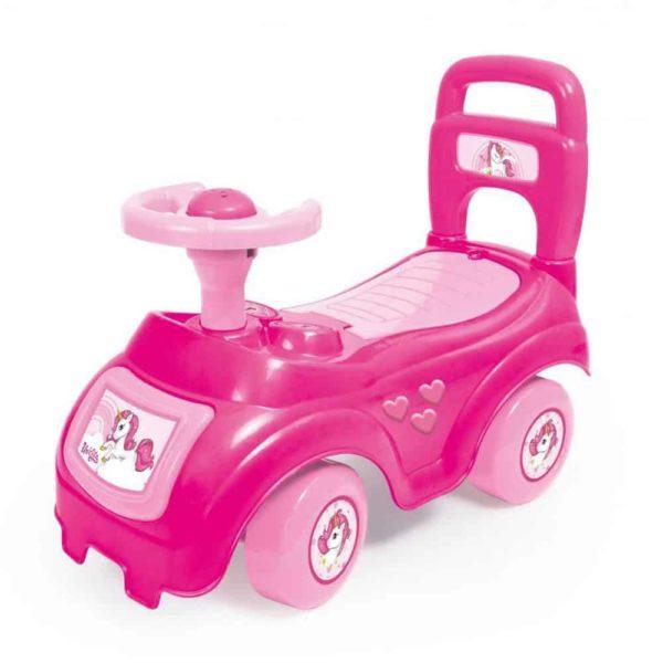 عربة الركوب الخرافية -زهرية اللون