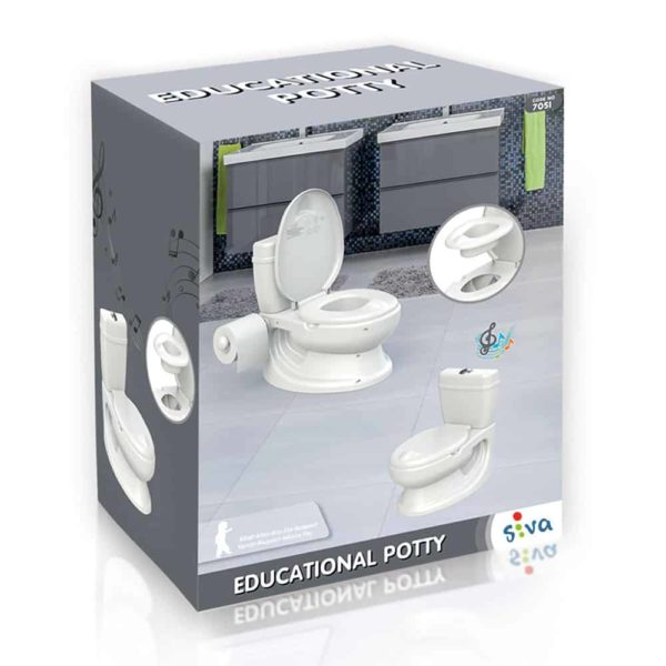 potty trainer seat white