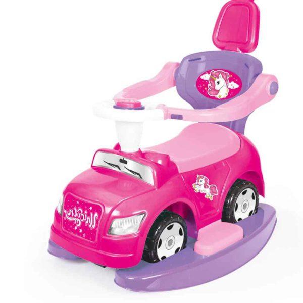 سيارة الخطوة الاولي 4 في 1 زهرية اللون