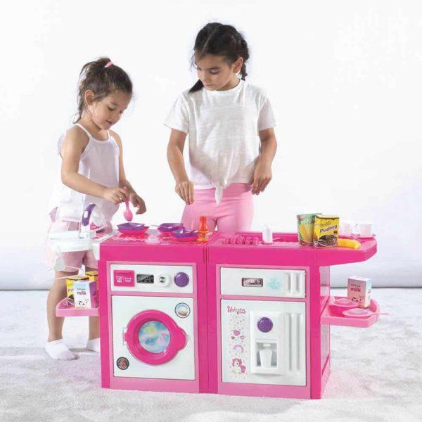 dolu unicorn 360° kitchen set 4in1