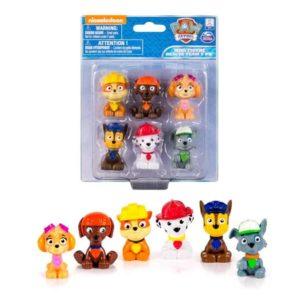 paw patrol mini figure rescue team