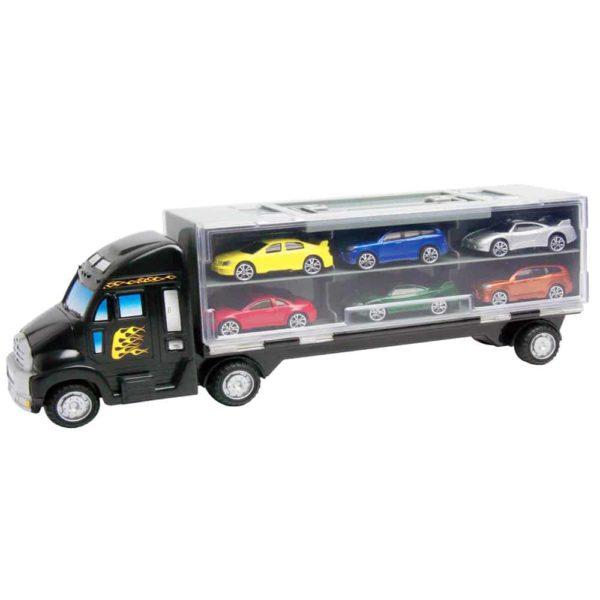 شاحنة نقل مع 6 سيارات صغيرة بحقيبة 14 بوصة من موتور ماكس