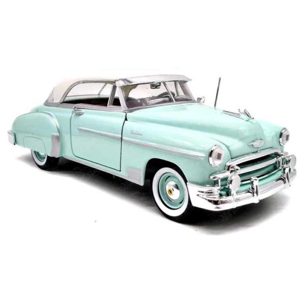 1950 شيفروليه بيل اير (نعناعي- بيج) من موتور ماكس
