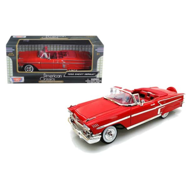 1958 chevy impala (blue – red) by motormax