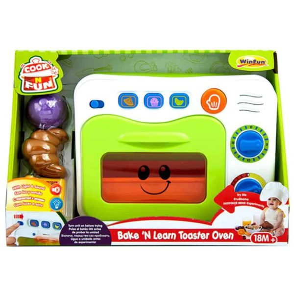 2-in-1 toaster oven winfun