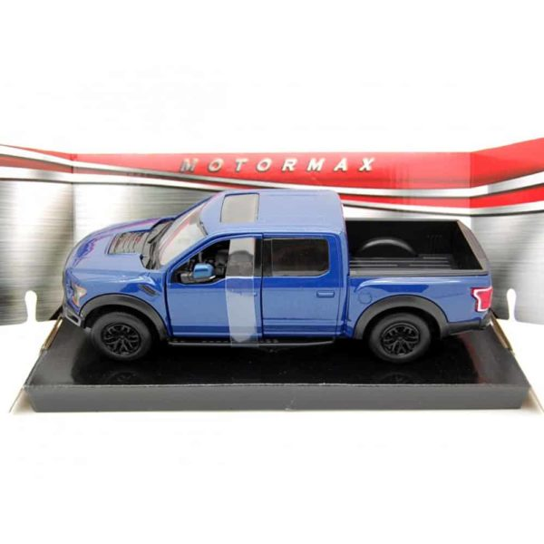 2017 ford blue diecast car by motormax.