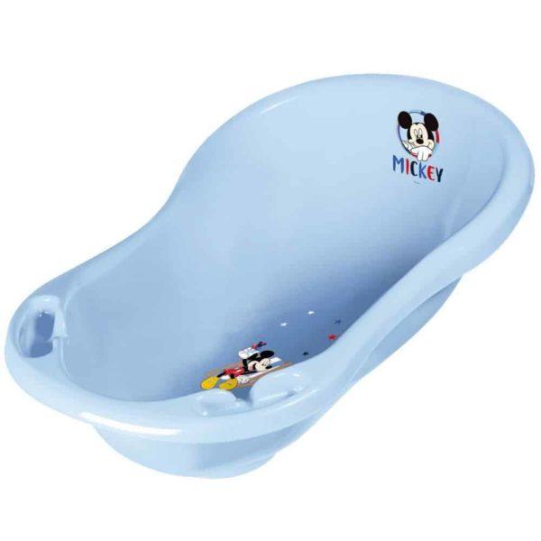 حوض حمام الأطفال ميكى 84 سم أزرق فاتح من كيبر