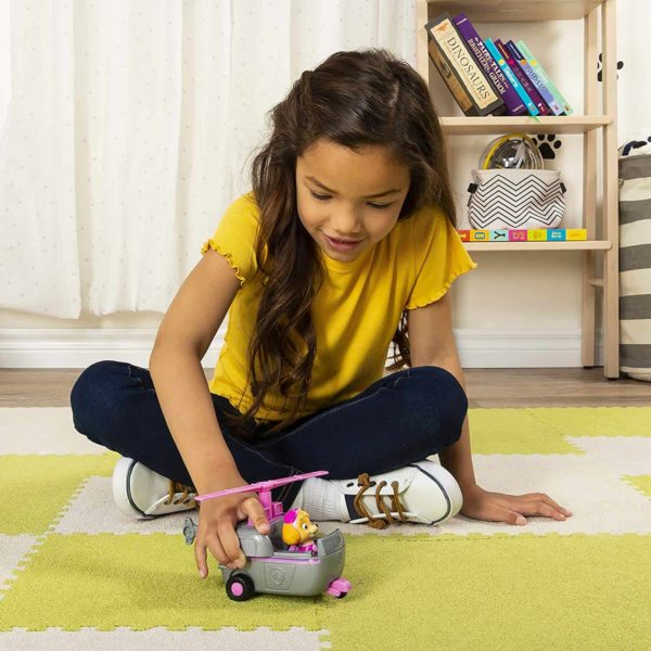 paw patrol skye's helicopter vehicle