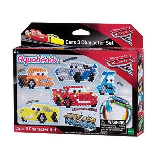Aquabeads Cars 3 Character Set