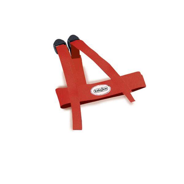 حزام السلامة الأحمر من بيبى جيم