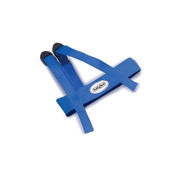 حزام السلامة الأزرق من بيبيى جيم