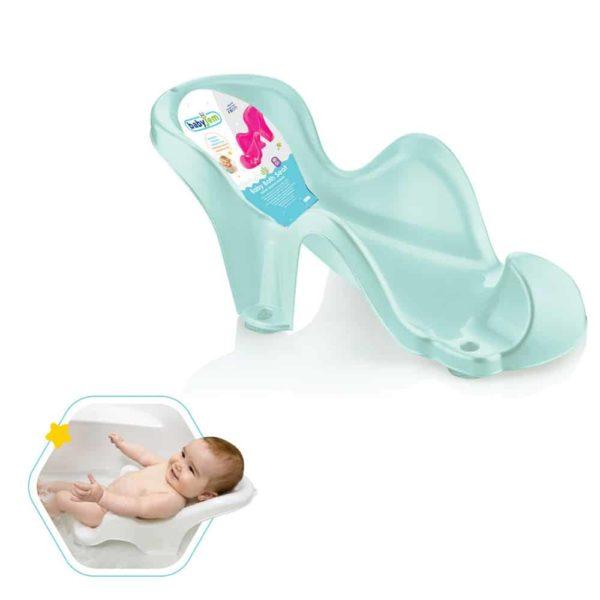 مقعد حمام الطفل الرمادى من بيبى جيم