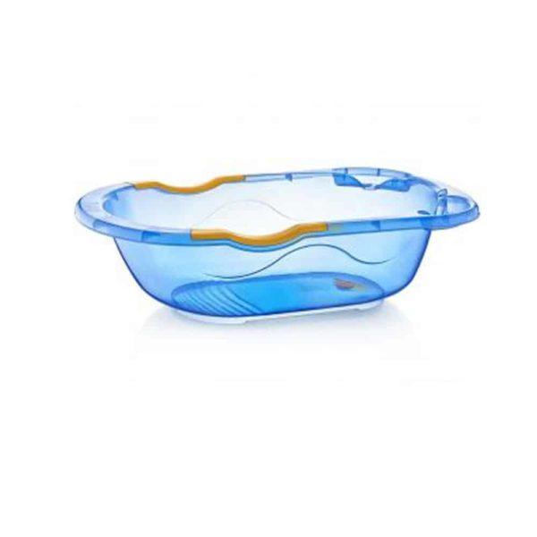 بانيو الاستحمام للأطفال الأزرق الشفاف من بيبى جيم