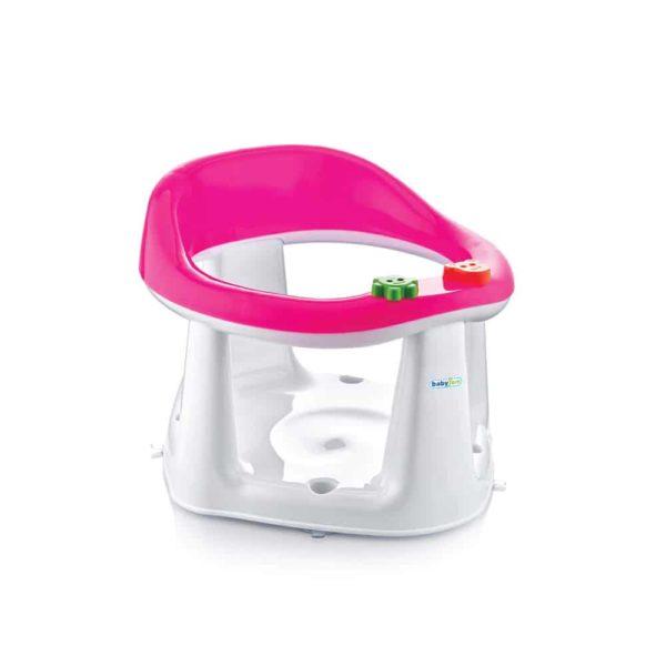 مقعد حمام الطفل زهرى اللون من بيبى جيم
