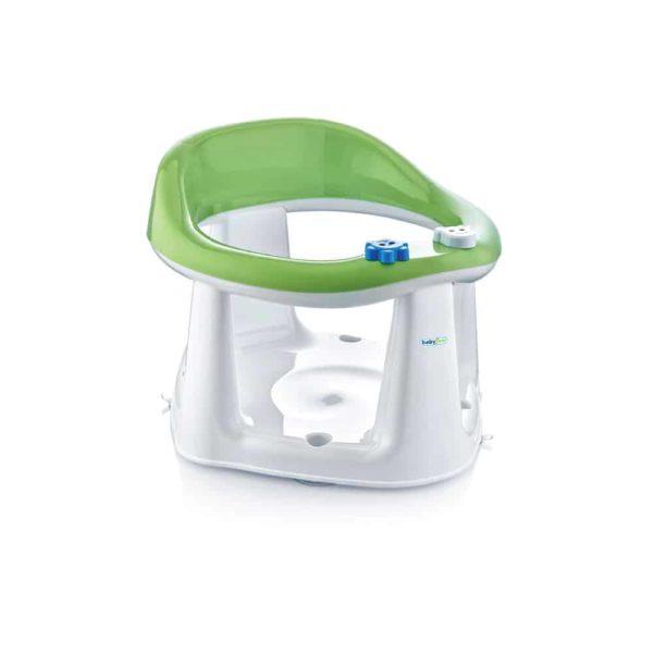 مقعد حمام الطفل أخضر اللون من بيبى جيم