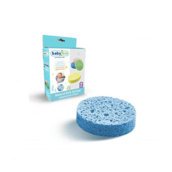 اسفنجة الاستحمام الأطفال الزرقاء من بيبى جيم