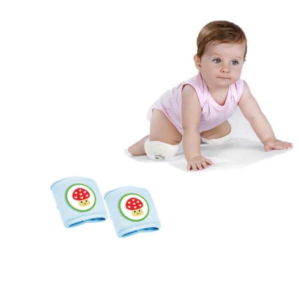 وسادة الركبة الزرقاء لرضع من بيبى جيم