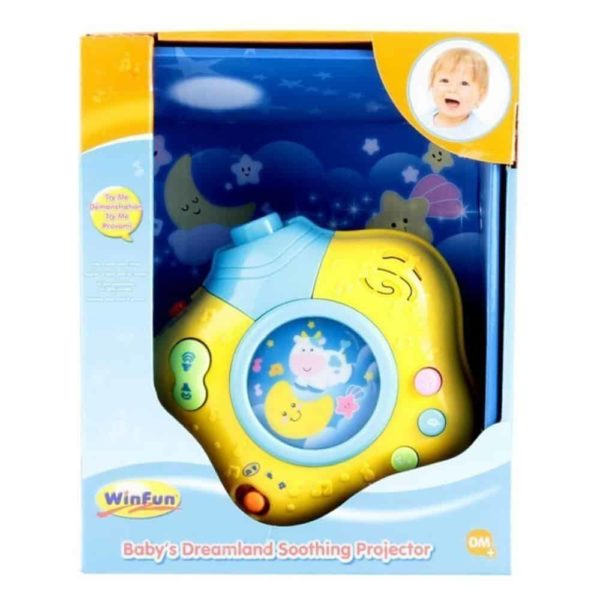 baby's dreamland soothing projector winfun
