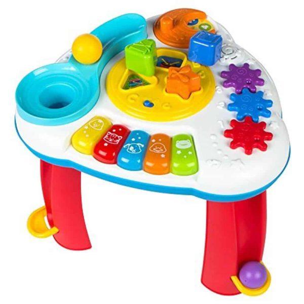 الطاولة الموسيقية بالكرات والاشكال من وين فن
