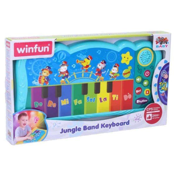 jungle band keyboard – 32 cm winfun