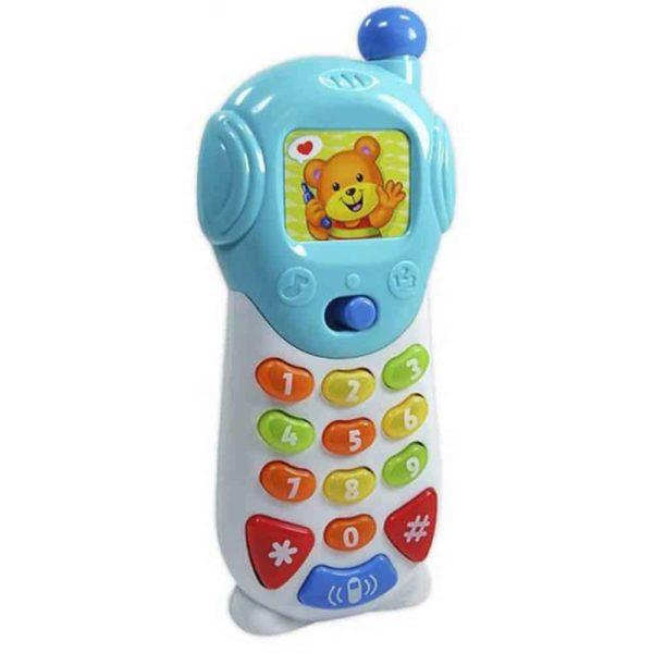 لعبة التلفون المتكلم المضئ من وين فن