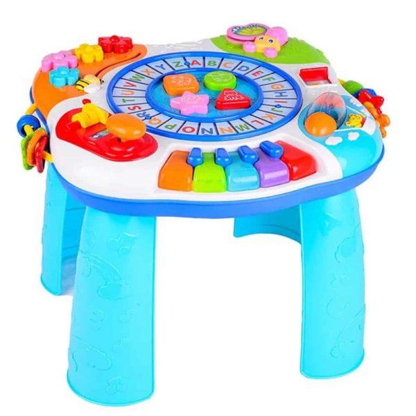 طاولة الانشطة ببيانو وقطار الحروف من وين فن