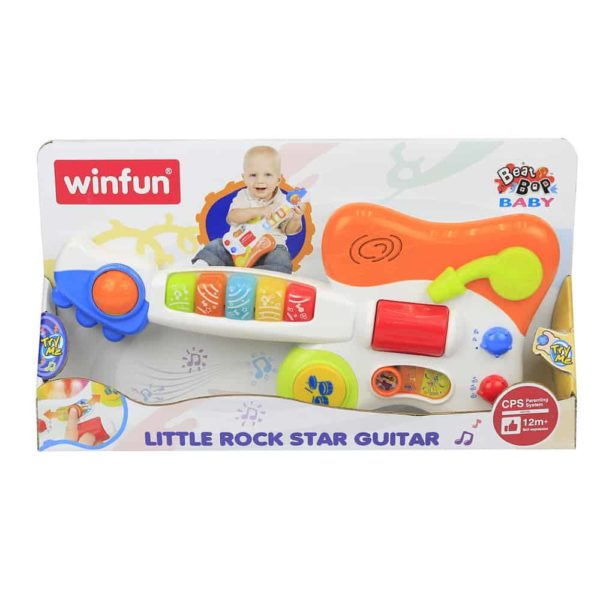 little rock star guitar winfun