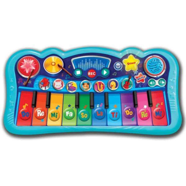 لوحة المفاتيح السحرية بالالحان الصوتية من وين فن
