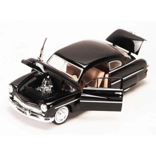 سيارة ميركوري كوبيه لعام 1949 (اسود-احمر غامق) من موتور ماكس