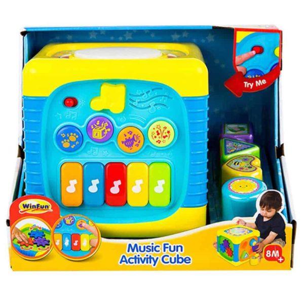 music fun activity cube winfun