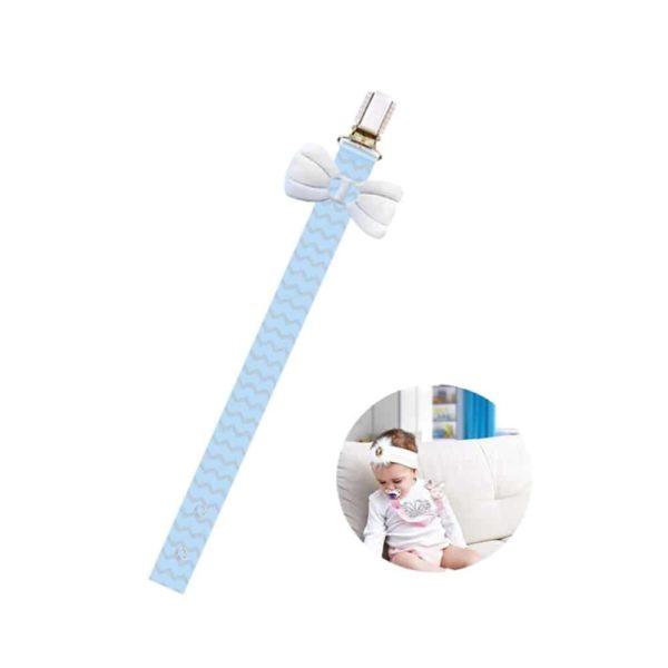 حامل مصاصة للأطفال ذو التصميم المطبوعالزرقاء من بيبى جيم