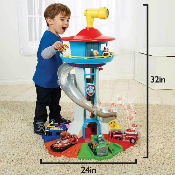 paw patrol – my size lookout tower with exclusive vehicle