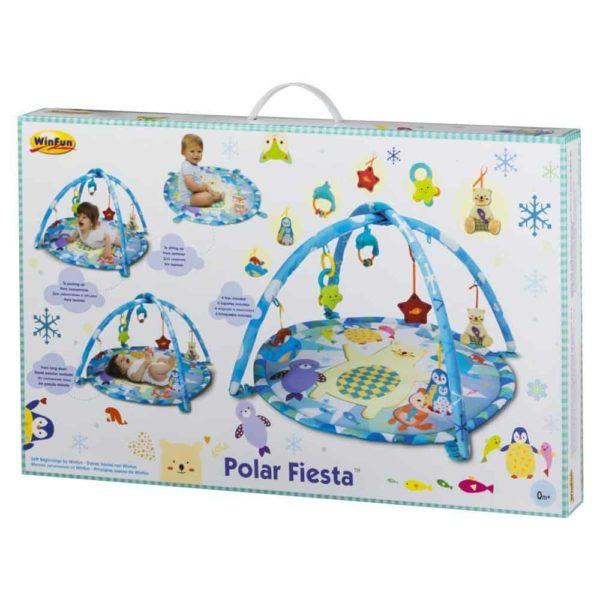 حصيرة لعب فييستا القطبية من وين فن