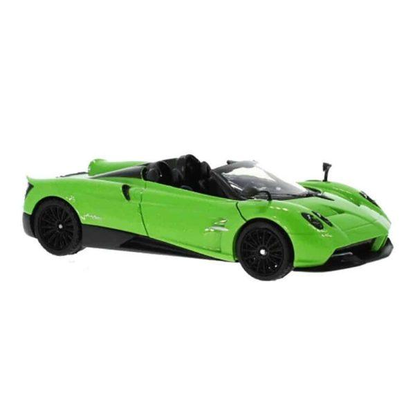 سيارة باجاني هوايرا رودستر (أخضر – برتقالي) من موتور ماكس