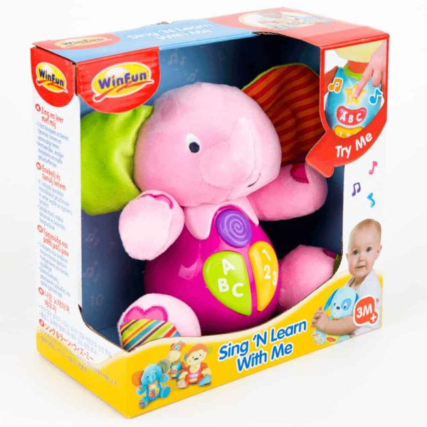 sing n' learn with me -timber the elephant winfun