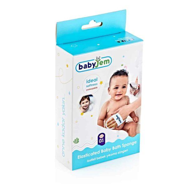 قفازات حمام الطفل لاإسفنجية من بيبى جيم