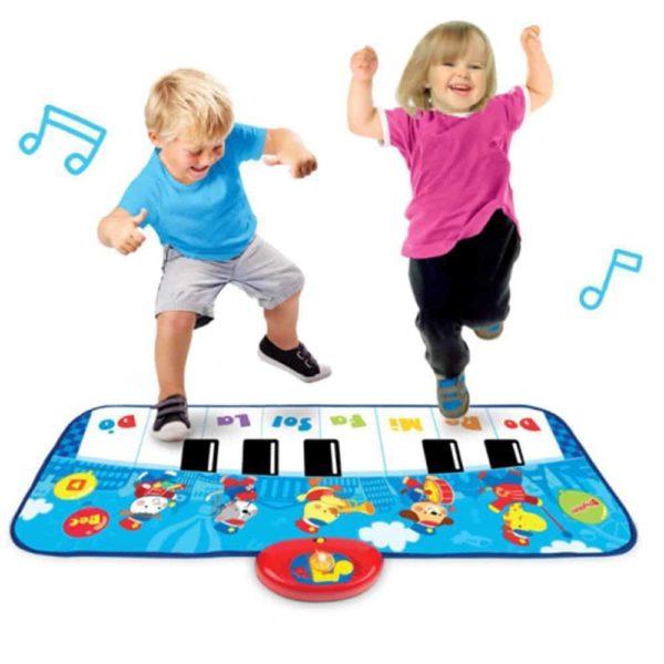 حصيرة البيانو للقفز واللعب من وين فن
