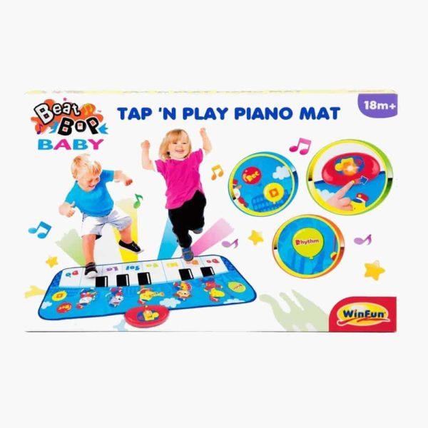 tap 'n play piano mat winfun