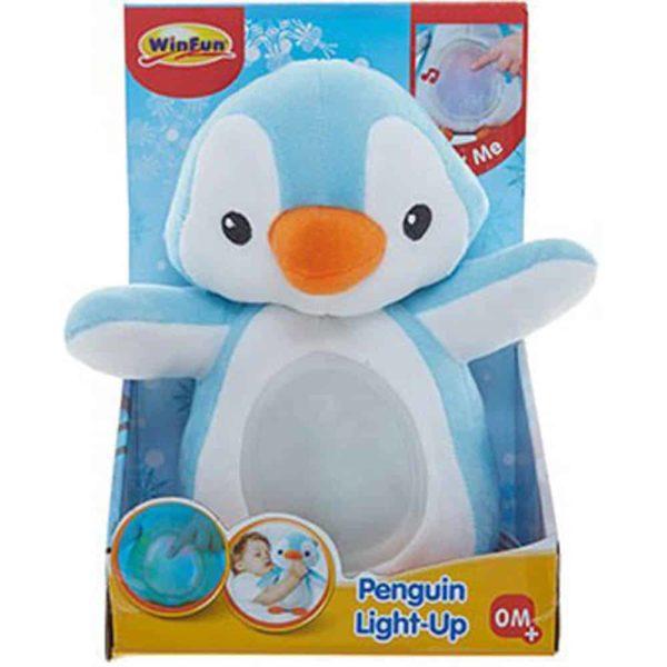 """Winfun Penguin Light up """"Blue"""""""