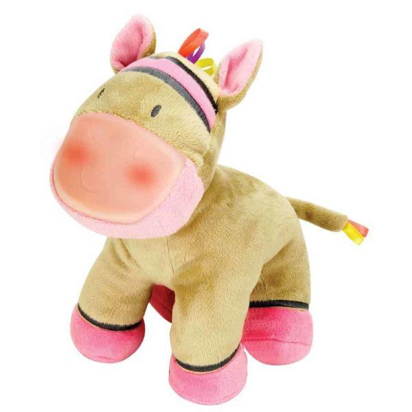 حصان زيبرا المضئ من وين فن