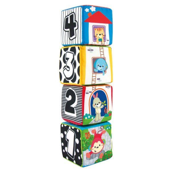 winfun animal pals soft blocks