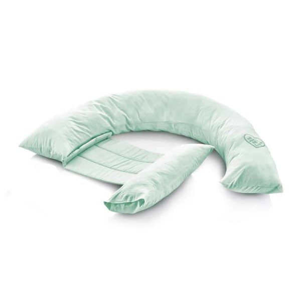 وسادة دعم الظهر للحوامل خضراء اللون من بيبى جيم