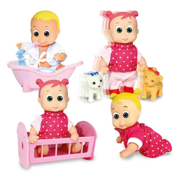 happy babies ice cream doll with accessories 35cm dimian