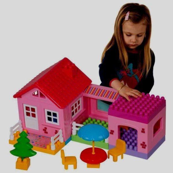 """build your house blocks """"36 pcs"""" dede"""