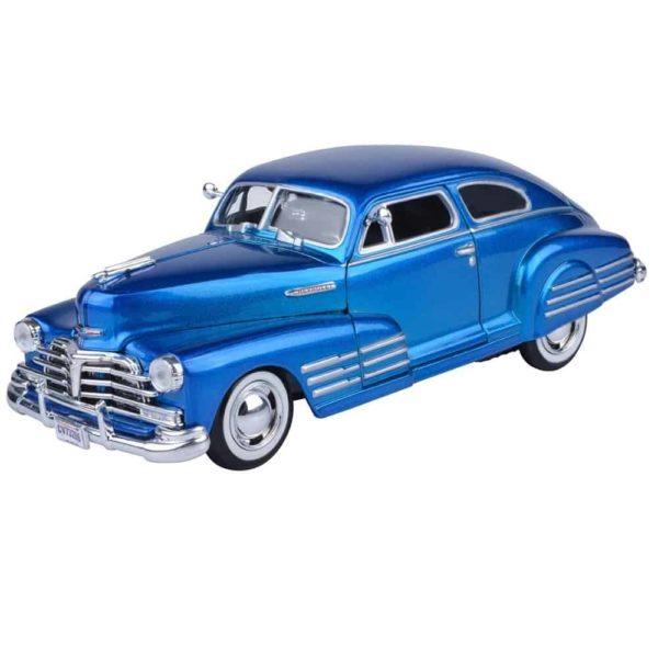 سيارة تشيفي ايروسيدان فليتين لسنه 1948 (أزرق- أحمر داكن) من موتور ماكس