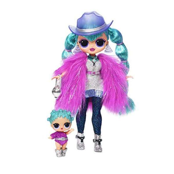 l.o.l surprise! o.m.g. winter disco cosmic nova fashion doll & sister