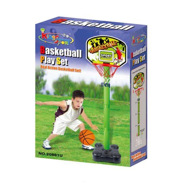 مجموعة كرة السلة من كينج سبورت -31سم