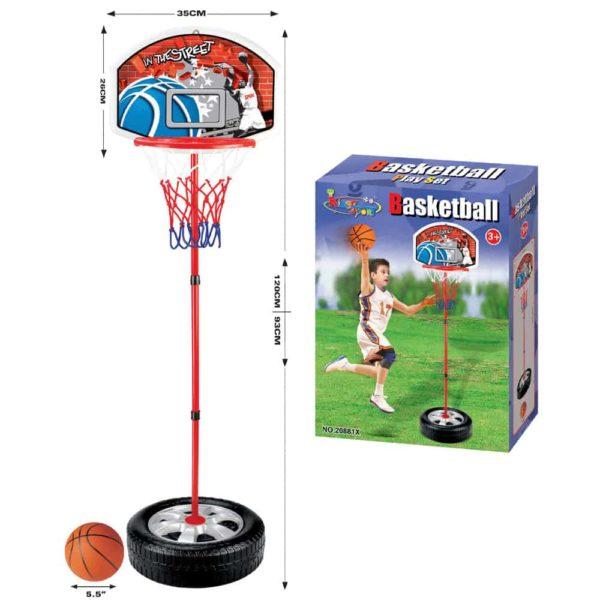 مجموعة كرة السلة من كينج سبورت – 28سم