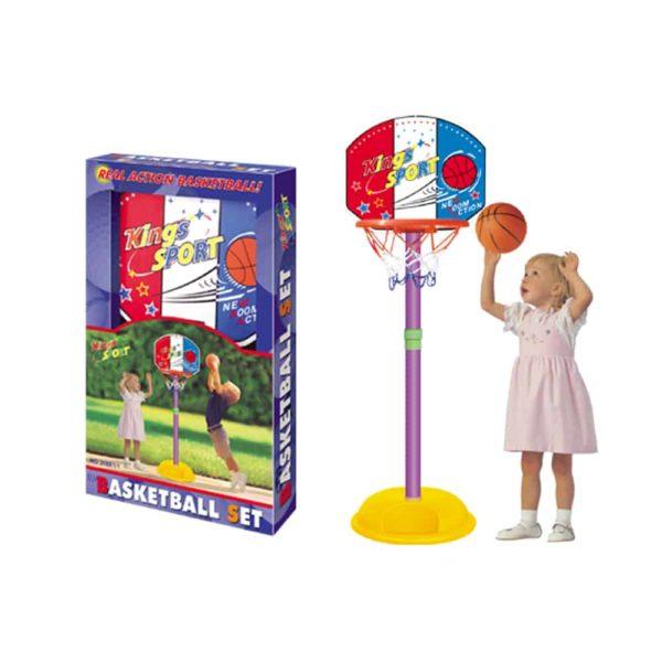 مجموعة كرة السلة من كينج سبورت- 33 سم
