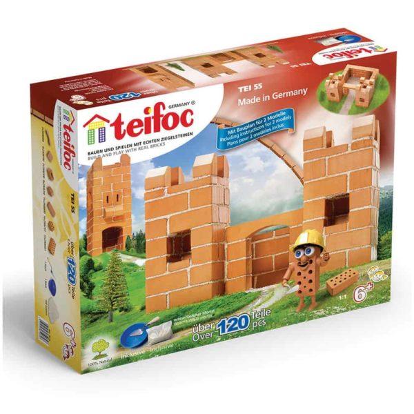 قوالب طوب بناء القلعة من تيفوك